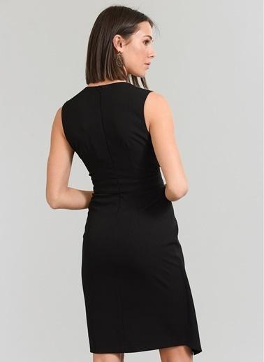 People By Fabrika Kolsuz Elbise Siyah